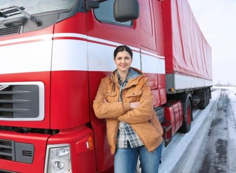 Femeile sofer de camioane – fata nestiuta a acestei meserii