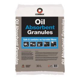 Absorbant  granule pentru scurgeri accidentale ulei  si combustibil