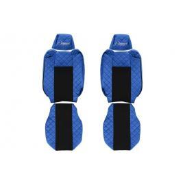 Huse scaun piele eco  Renault T dupa 01.2014- tetiere ajustabile