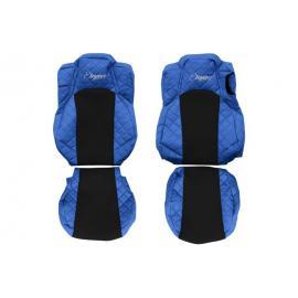 Set huse scaun din piele eco pentru camion MERCEDES ACTROS MP4 MP5 (dupa 01.2011)